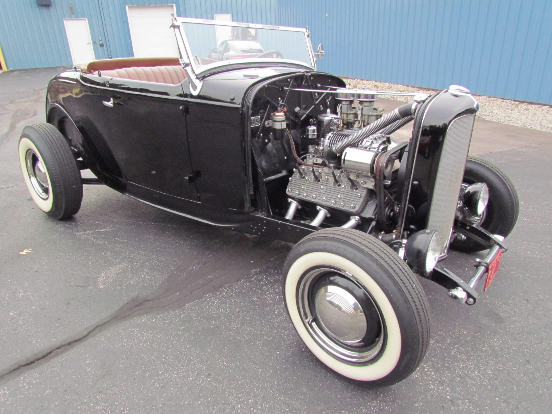 Voici la Ford Roadster 1932 de Tommy Fitzgerald que nous avons empruntée à la